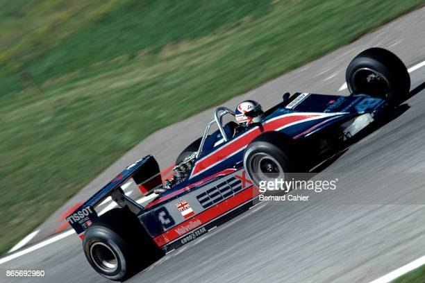 Nigel Mansell LotusFord 81B Grand Prix of Austria Osterreichring 17 August 1980 Nigel Mansell driving the LotusFord 81B in his first ever Formula One...