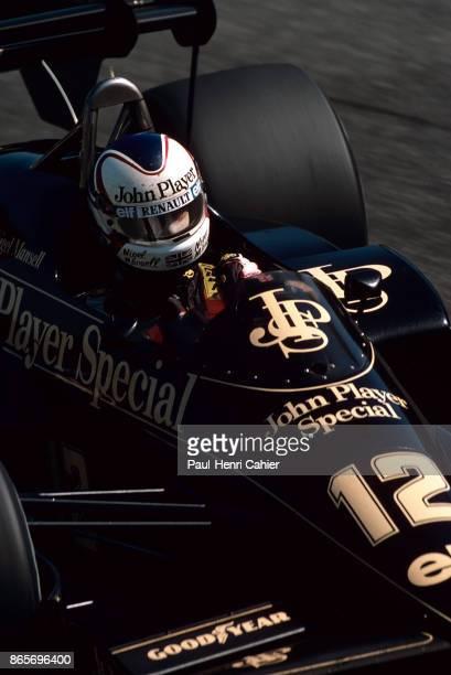 Nigel Mansell, Lotus-Renault 95T, Grand Prix of Italy, Autodromo Nazionale Monza, 09 September 1984.