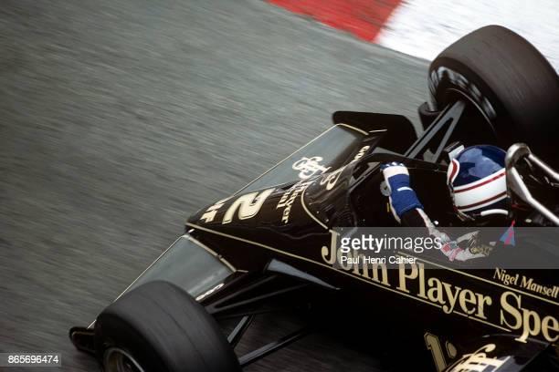 Nigel Mansell, Lotus-Renault 95T, Grand Prix of Monaco, Circuit de Monaco, 03 June 1984.