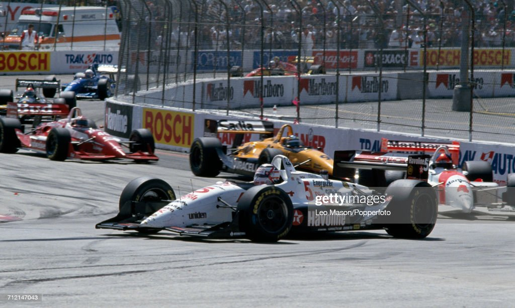 IndyCar Streets Of Long Beach Grand Prix - Nigel Mansell : News Photo