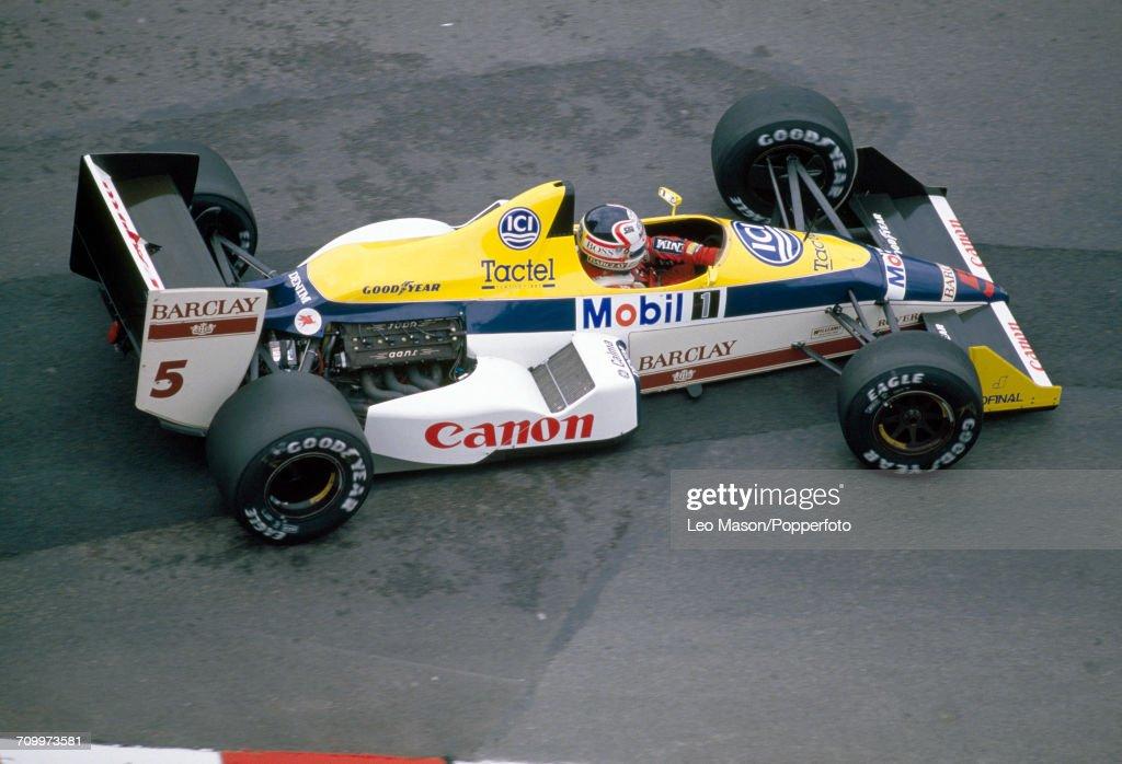 Formula One Grand Prix - Nigel Mansell : News Photo