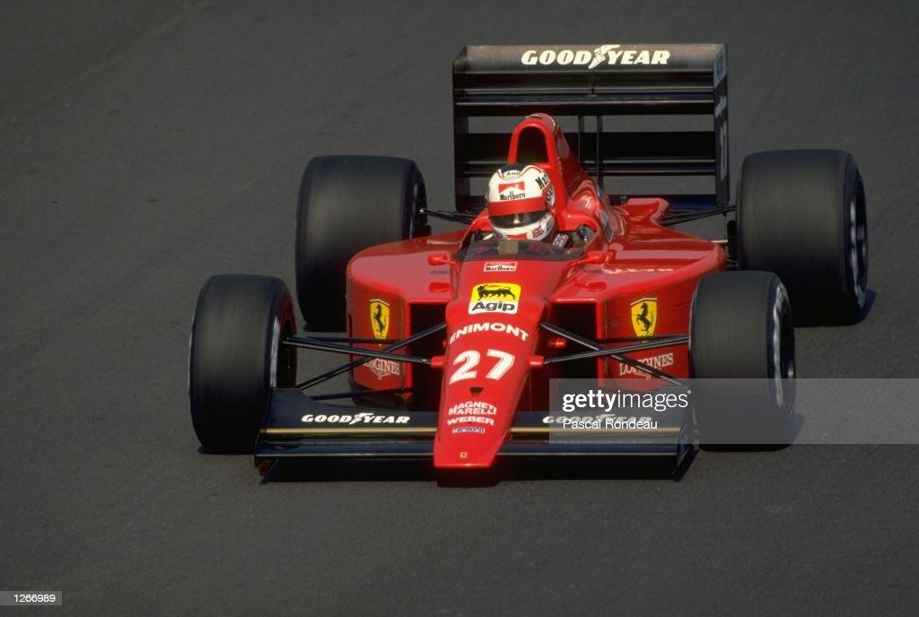 Nigel Mansell : News Photo