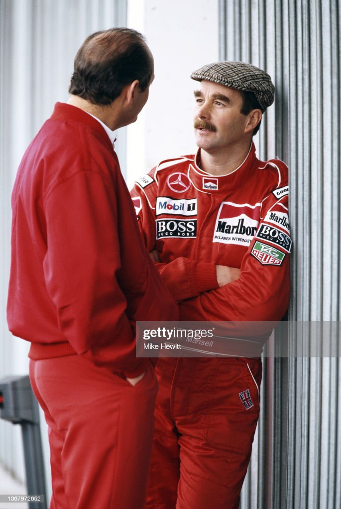 Nigel Mansell - Estoril Testing 1995 : News Photo