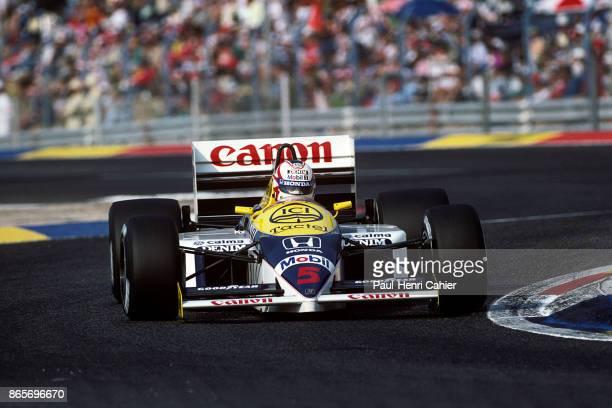 Nigel Mansell WilliamsHonda FW11 Grand Prix of France Circuit Paul Ricard 06 July 1986