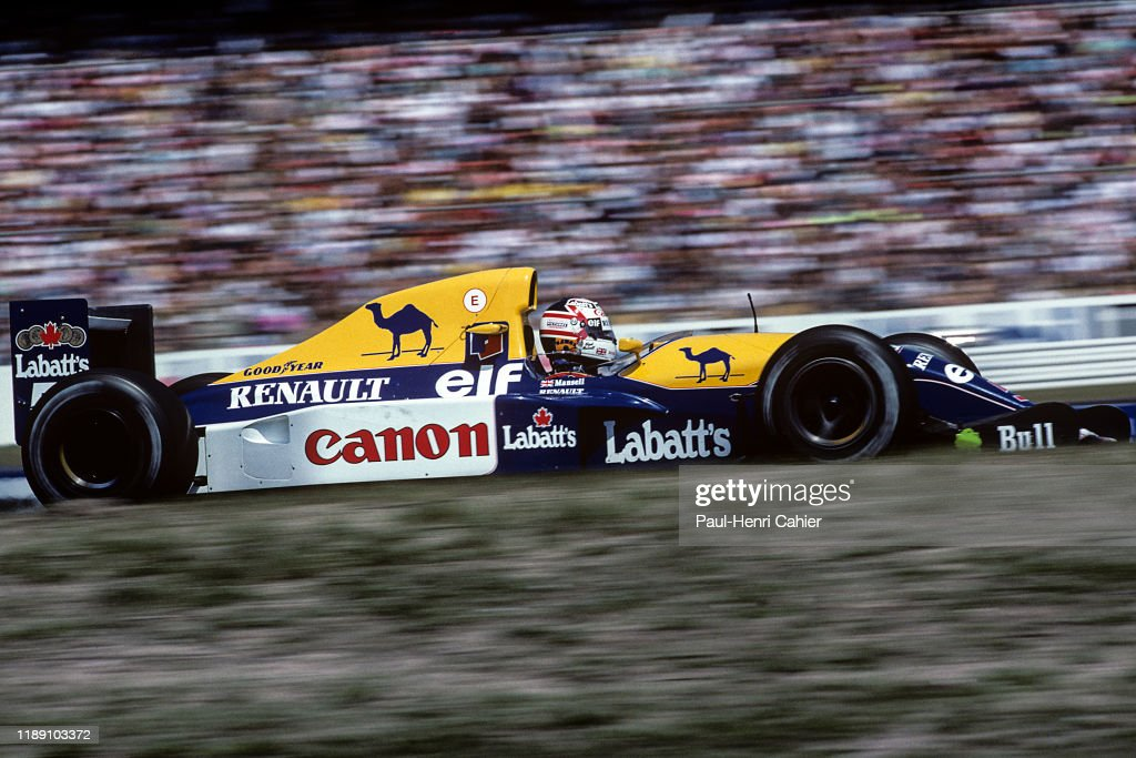 Nigel Mansell, Grand Prix Of Germany : News Photo