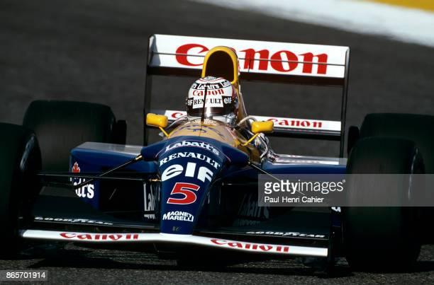 Nigel Mansell, Williams-Renault FW14B, Grand Prix of Portugal, Autodromo do Estoril, 27 September 1992.
