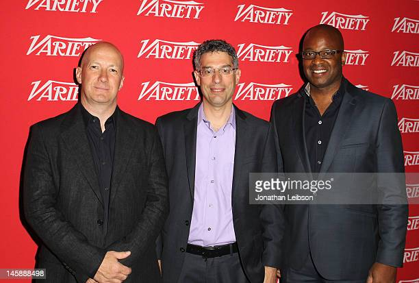 Nigel Morris CEO Aegis Media Americas moderator Bob Safian Editor Managing Partner Fast Company and Frank Cooper CMO Pepsi attend MASSIVE Advertising...