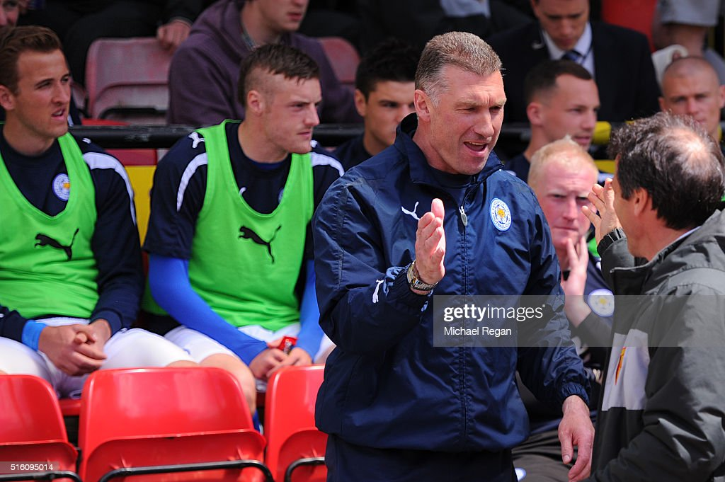 Watford v Leicester City - npower Championship Play Off Semi Final: Second Leg : Nieuwsfoto's