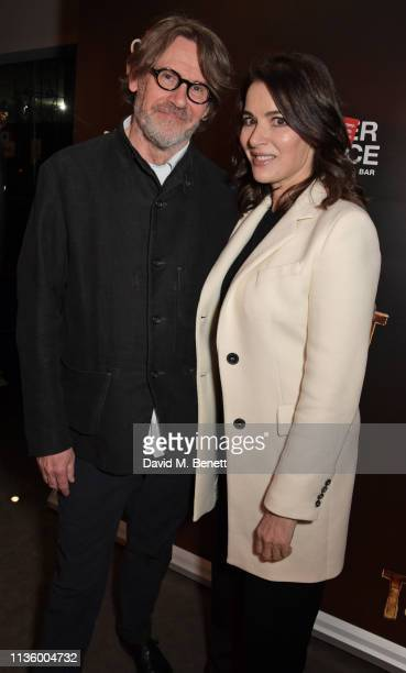 Nigel Slater and Nigella Lawson attend the press night after party for Nigel Slater's Toast at The Other Palace on April 9 2019 in London England