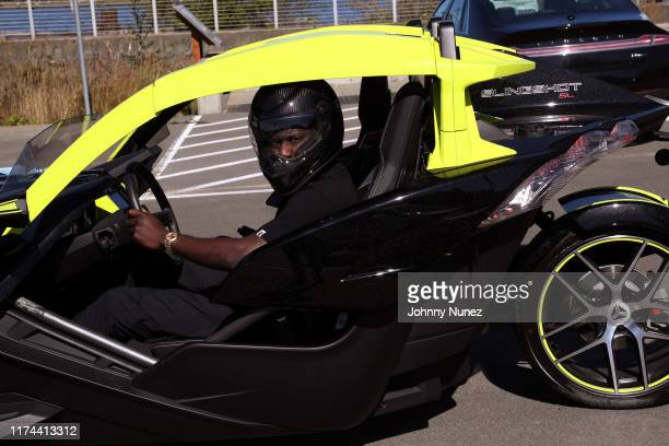 Nigel Sylvester attends the Starstudded Adventure Ride hosted by Polaris Slingshot And RZR on September 12 2019 in Tenmile Oregon