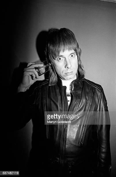 Nigel Tufnel of Spinal Tap poses London United Kingdom 1992
