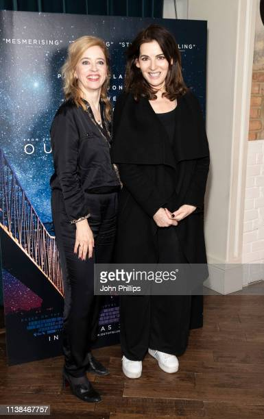 Nigella Lawson and Carol Morley attends the Out Of Blue preview screening at Picturehouse Central on March 26 2019 in London England