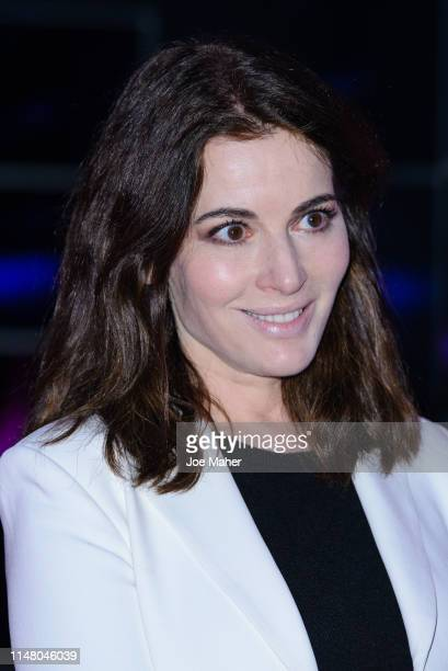 Nigella Lawson attends a VIP dinner as part of the Stanley Kubrick The Exhibition at The Design Museum on May 09 2019 in London England