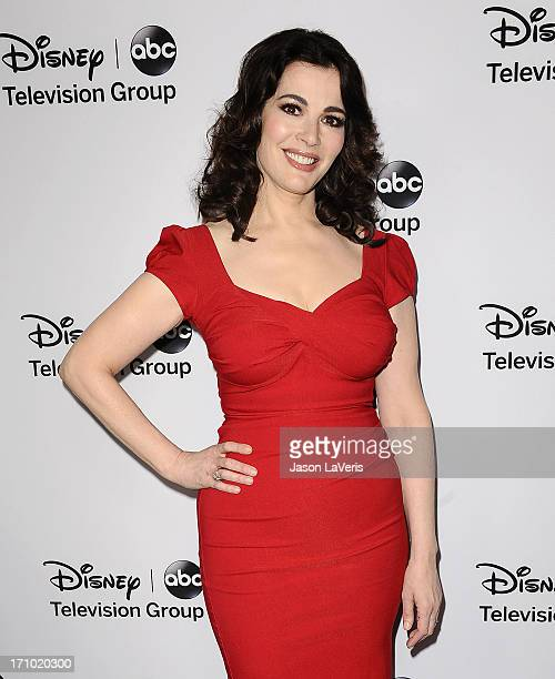 Nigella Lawson attends the Disney ABC Television Group 2013 TCA Winter Press Tour at The Langham Huntington Hotel and Spa on January 10, 2013 in...