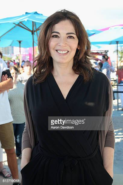 Nigella Lawson attends the Goya Foods Grand Tasting Village Featuring MasterCard Grand Tasting Tents KitchenAid® Culinary Demonstrations during 2016...