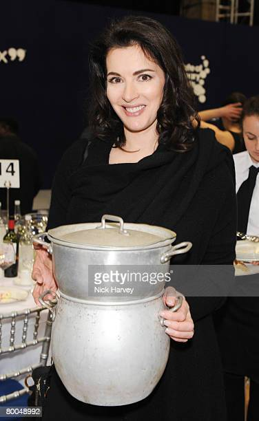 Nigella Lawson attends the Institute of Contemporary Arts Annual Fundraising Gala Figures of Speech on February 27 2008 in London England
