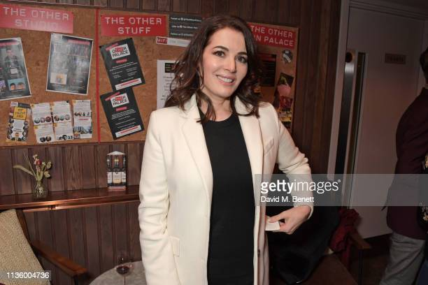 Nigella Lawson attends the press night after party for Nigel Slater's Toast at The Other Palace on April 9 2019 in London England