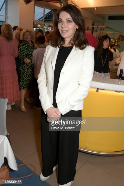 Nigella Lawson attends The Sunday Times AA Gill Award for emerging food critics at The River Cafe on June 16 2019 in London England
