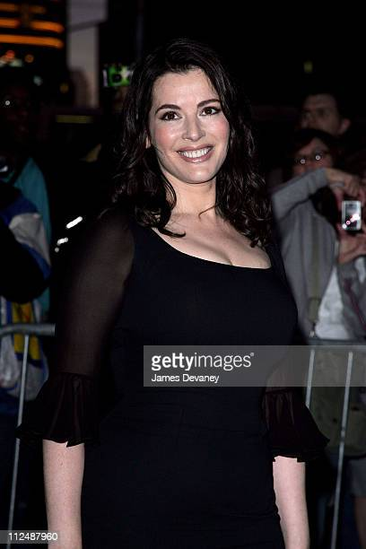 Nigella Lawson during Amanda Peet and Nigella Lawson Visit the 'Late Show With David Letterman' September 27 2006 at Ed Sullivan Theatre in New York...