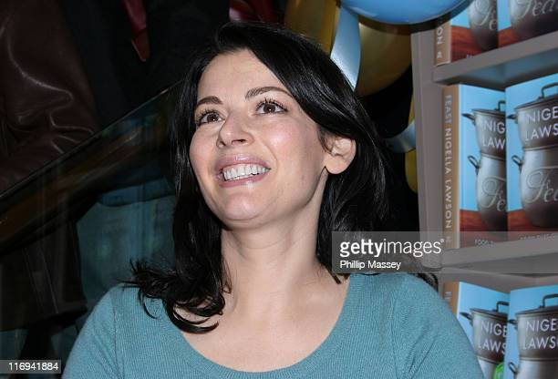 Nigella Lawson during Nigella Lawson Book Signing at Easons Book Store in Dublin Ireland