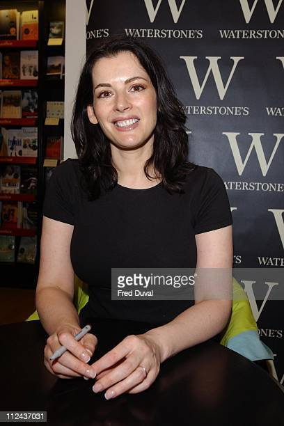 Nigella Lawson during Nigella Lawson Book Signing at Waterstone's London at Waterstone's in Leadenhall Market in London United Kingdom