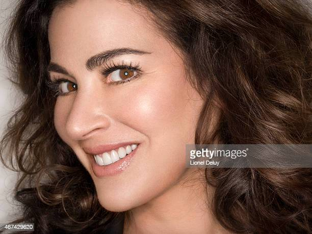 Nigella Lawson is photographed for Self Assignment on September 1 2014 in Los Angeles California