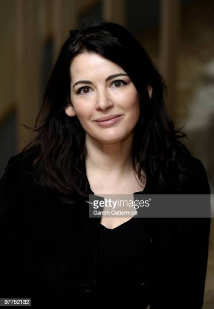 Nigella Lawson poses at the relaunch of the Jewish Museum in Camden on March 16 2010 in London England The Jewish Museum reopens to the public on...