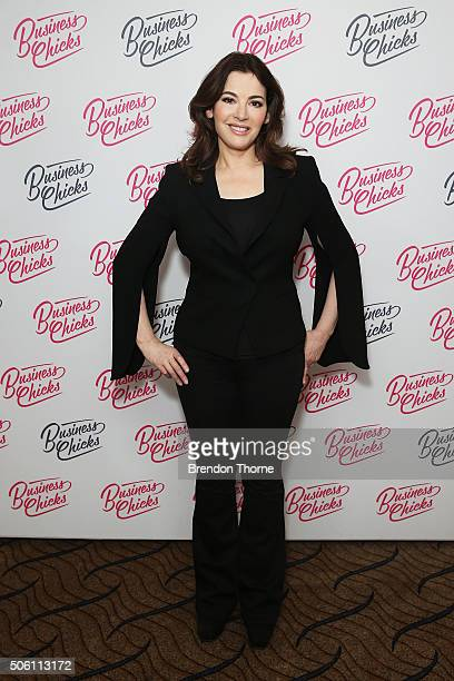 Nigella Lawson poses during a Business Chicks function at Westin Hotel on January 22 2016 in Sydney Australia