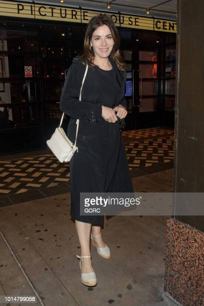 Nigella Lawson seen leaving the Picturehouse Cinema in Soho on August 10 2018 in London England