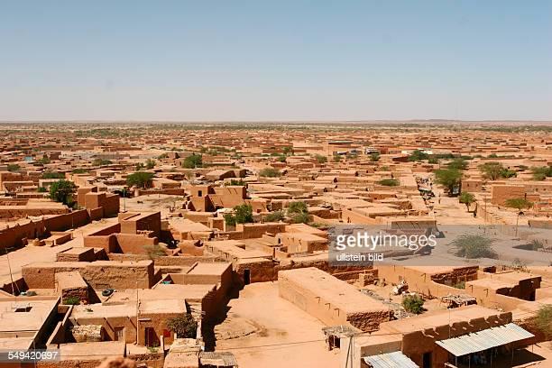 Niger Agadez Cityscape of Agadez
