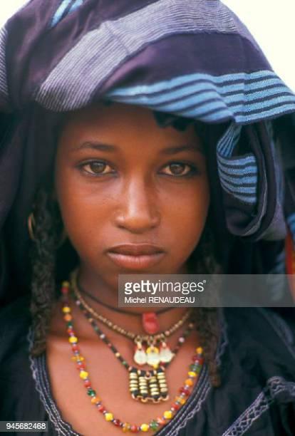Niger dans les environs d'Agadez et d'in gall la fin de l'hivernage les peul bororo se regroupent pour la cure sale et profitent de ce rassemblement...