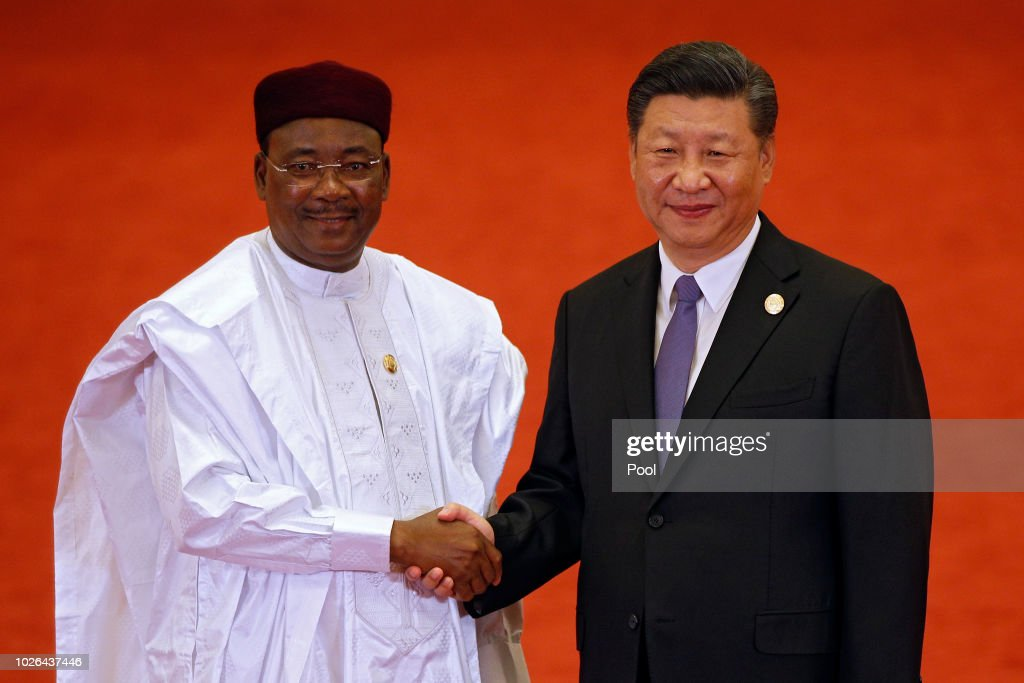 2018 Beijing Summit Of The Forum On China-Africa Cooperation - Welcoming Ceremony : News Photo