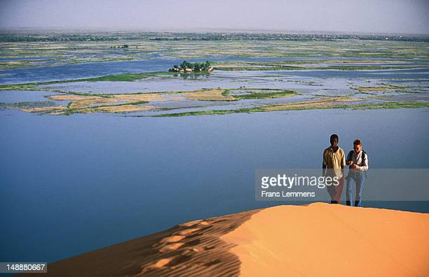 Niger River from Dune Rose.