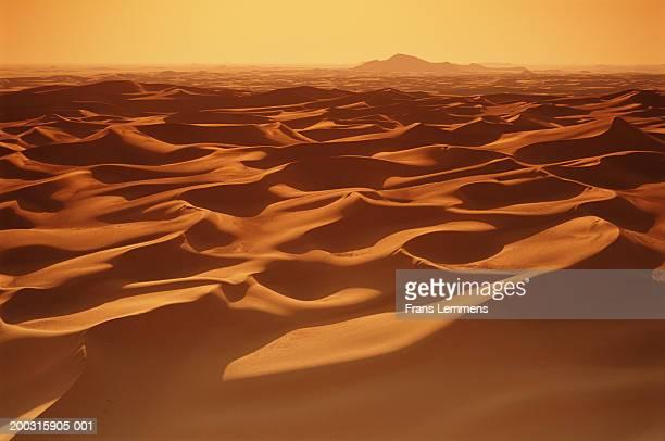 Niger, Tenere Desert, sand dunes of Temet, early morning