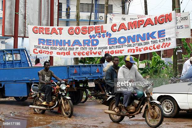 evangelical meeting with Reinhard Bonnke Christian evangelist
