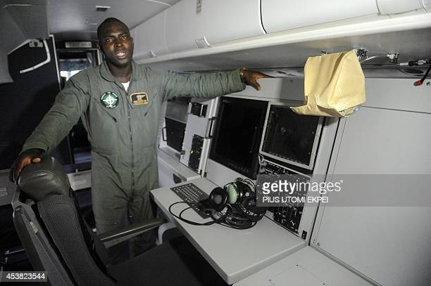 Nigerian Airforce pilot Group Captain Olalekan Omotosho speaks about Airforce ATR 42500 Maritime Patrol Aircraft acquired to fight maritime crime in...