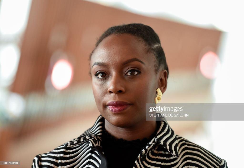 FRANCE-NIGERIA-CULTURE-LITERATURE-PORTRAIT : News Photo