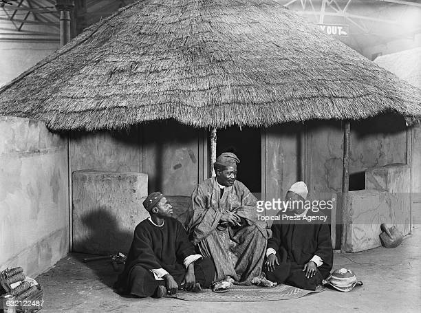 Nigerian clergyman and composer, the Reverend Canon Josiah Ransome-Kuti at 'Africa and the East', an exhibition organised by the Church Missionary...