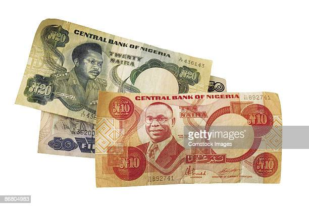 nigerian currency - nigeria money stock photos and pictures