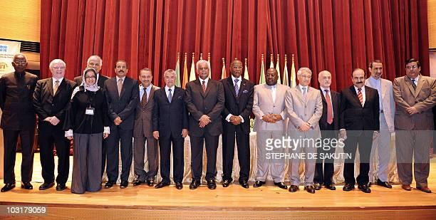 Nigerian Minister of Petroleum Resources Dr Rilwanu Lukman Venezuela's Governor to OPEC Bernard Mommer Koweiti Governor for OPEC Ms Nawal AlFuzaia...