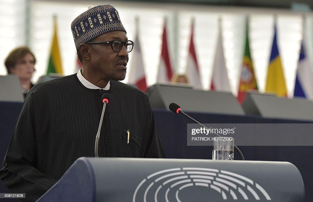 FRANCE-NIGERIA-EUROPE-EU-DIPLOMACY-PARLIAMENT : News Photo
