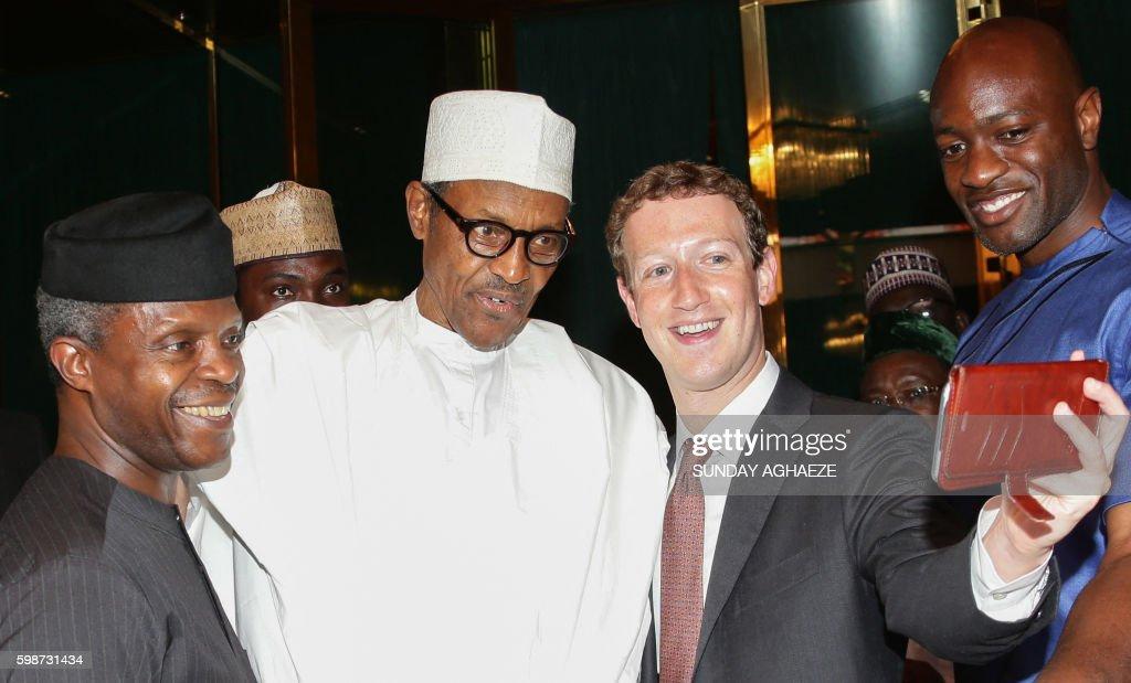 NIGERIA-FACEBOOK-INTERNET-YOUTH-EMPOWERMENT-ECONOMY : News Photo