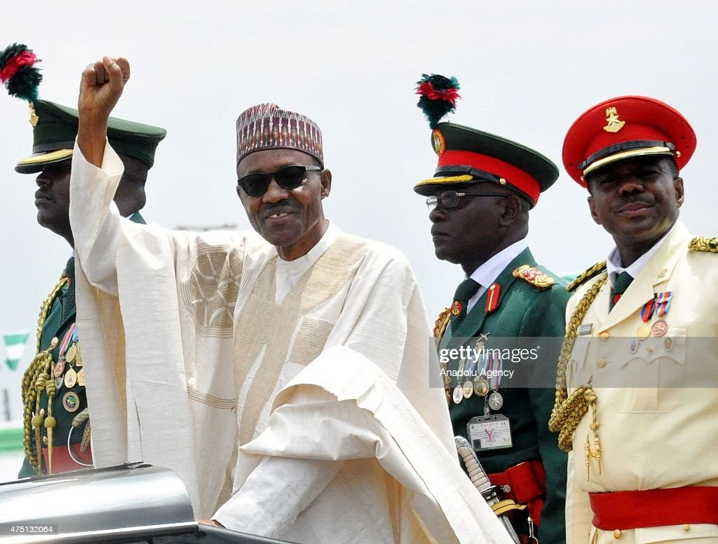 Presidential inauguration in Nigeria : News Photo