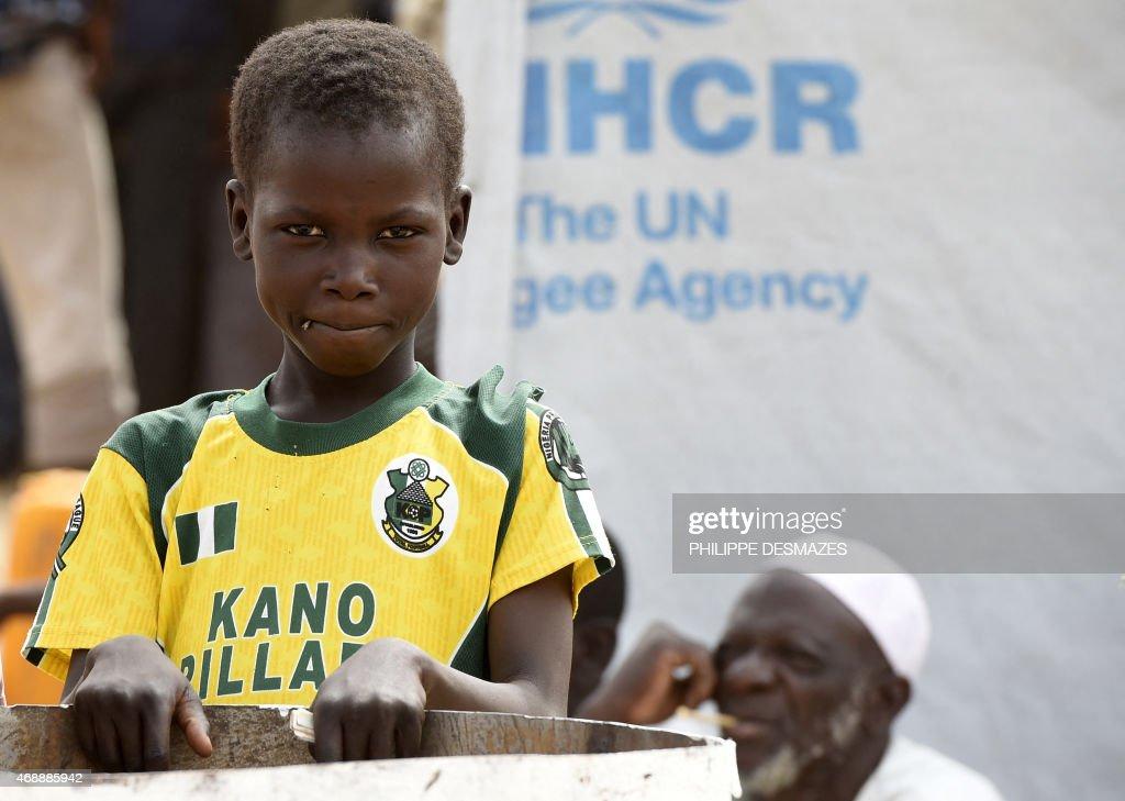 CHAD-NIGERIA-UNREST-REFUGEES : News Photo