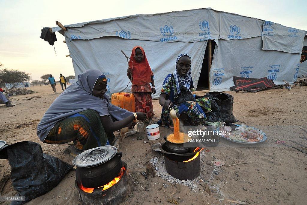 CHAD-NIGERIA-UNREST-BAGA : News Photo