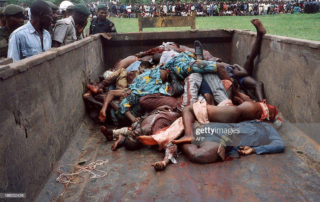 NIGERIA-MASS EXECUTION : News Photo