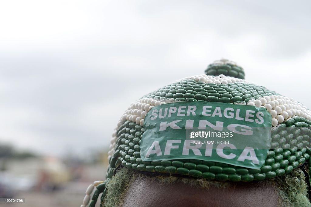 FBL-WC-2014-NIGERIA : News Photo