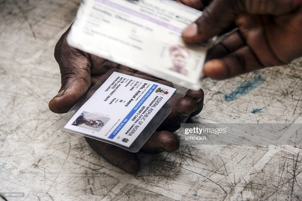 NIGERIA-ELECTIONS : News Photo
