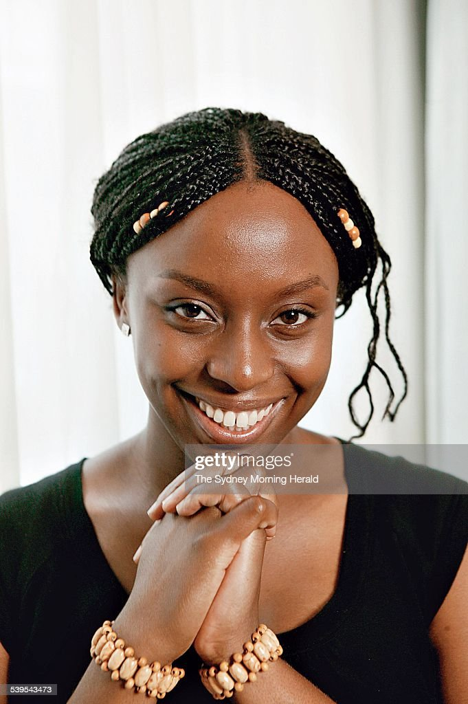 Nigerian Writer Chimamanda Ngozi Adichie Author Of The Novel