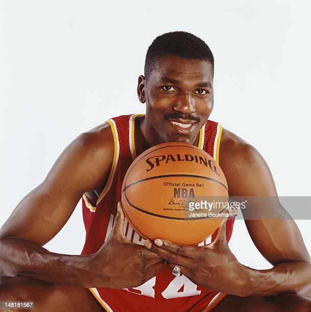 NigerianAmerican basketball player Hakeem Olajuwon Houston 2001